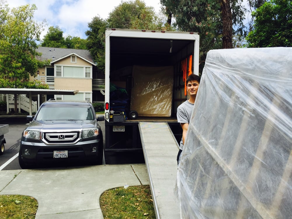 San Jose Movers at work